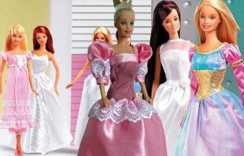 Бальное платье для куклы барби